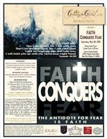 FEAR NOT:  Faith Conquers Fear