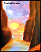 Sip N' Paint Golden Canyon Saturday June 22nd, 4pm