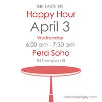 The Taste NY Happy Hour