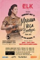 ELK LIVE Presents: MARIANA VEGA in San Antonio, TX...