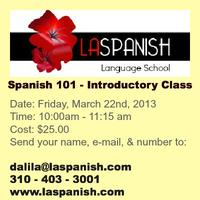 Spanish 101 - Introductory Class