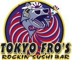 Tokyo Fro's Rockin' Sushi logo