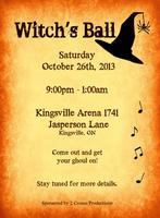 Witches Ball 2013
