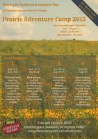 Prairie Adventure Camp #1 June 9-11, 2015