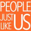 People Just Like Us logo