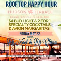 HAPPY HOUR BY THE HUDSON ROOFTOP by ICLUBNYC