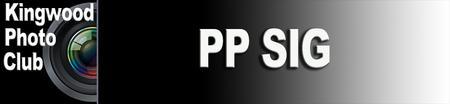 PP SIG - Lightroom 101