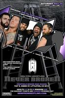 NRW Pro Wrestling Presents: NEVER BROKEN Saturday May...