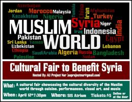 Cultural Fair to Benefit Syria