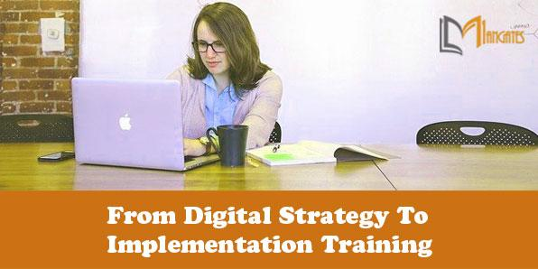 From Digital Strategy To Implementation 2 Days Training in Stuttgart
