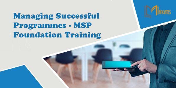 Managing Successful Programmes - MSP Foundation 2 Days Training- Stuttgart