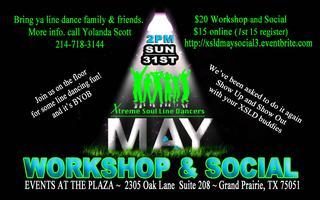 MAY Line Dance WORKSHOP/SOCIAL