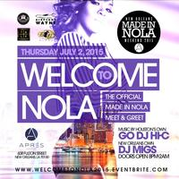 Thurs July 2, 2015 WELCOME to NOLA During Essence...