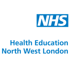 Health Education England North West London logo