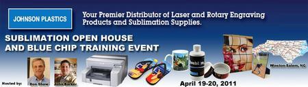 Johnson Plastics Bloomington, MN Sublimation Open...