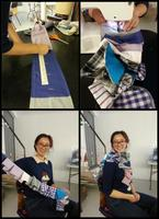 Introduction to using a sewing machine & upcycling