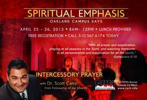Spring Spiritual Emphasis