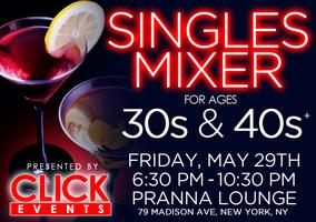 30's & 40's Singles Happy Hour