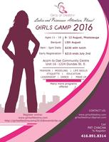 GIRLS OF DESTINY TEEN SUMMER CAMP 2016- Ages 11-16