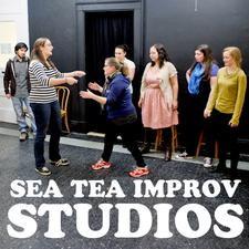 Sea Tea Improv Studios logo