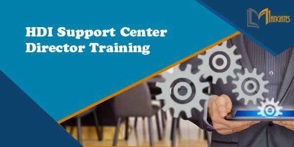 HDI Support Center Director 3 Days Training in Ottawa