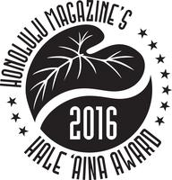 2016 Hale Aina Awards (7:00-9:30 PM CELEBRATION)