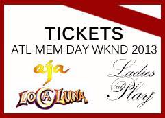 Ladies at Play's Atlanta Memorial Day wknd events