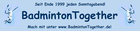 Badminton • ► Robert ◄ • 18:40h • 31.03.2013►ACHTUNG:...