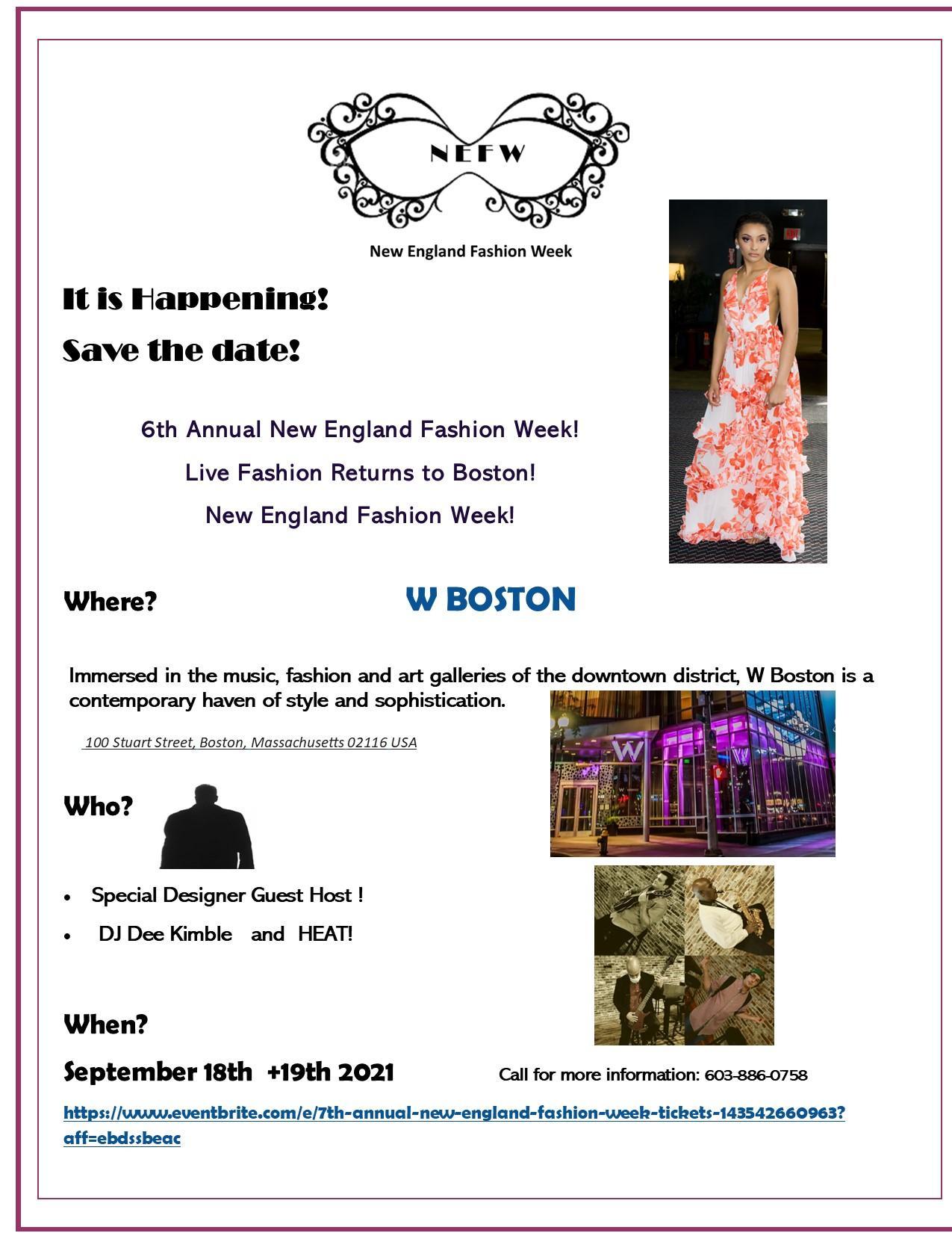 7th Annual New England Fashion Week