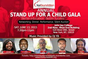 2ND ANNUAL STAND UP FOR A CHILD GALA