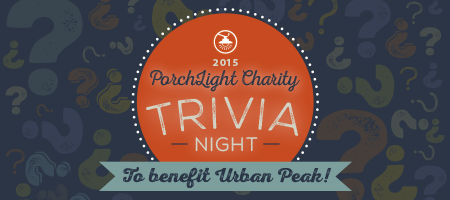 PorchLight Charity Trivia Quiz Night - Summer 2015!