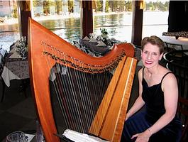 Anne Roos Celtic Harp at Shooting Star!