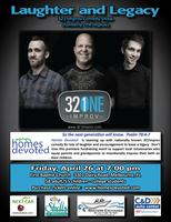 Laughter & Legacy: 321 Improv Comedy Event with Homes...