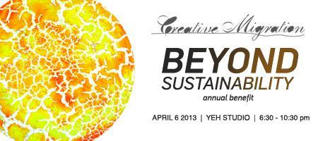 BEYOND SUSTAINABILITY Donate NOW To Support Creative Mi...