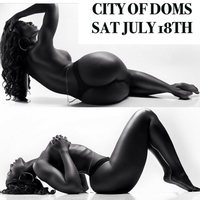 "City of Doms ""TAG TEAM""  JULY 18"