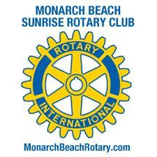 Monarch Beach Sunrise Rotary Club logo