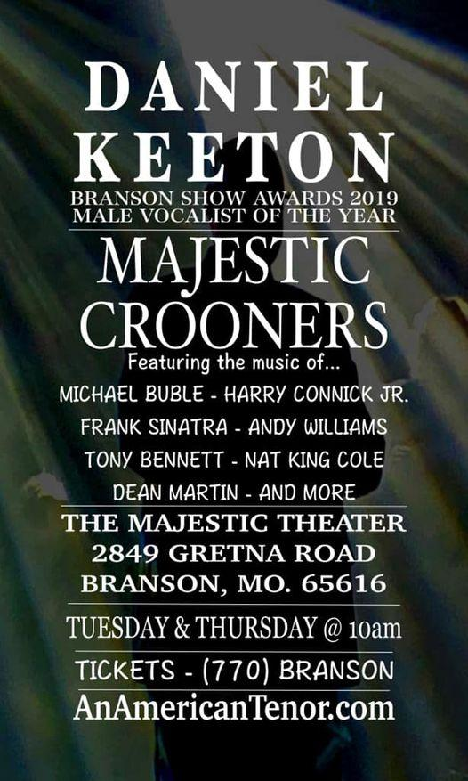 Majestic Crooners Show