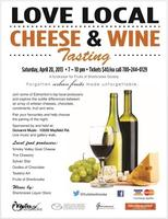 Love Local Cheese and Wine Event