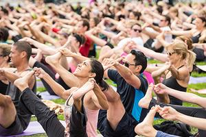 Wanderlust Yoga in the City Chicago