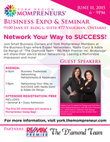 York Region Mompreneurs Biz Expo & Networking Seminar
