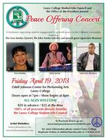 Laney College Peace Concert: Lena Sunday, John Santos...