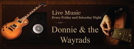 6/27   Donnie & the Wayrads