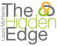 Laura McHarrie at The Hidden Edge logo