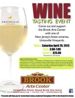 Wine Tasting Fundraiser for the Brook Arts Center