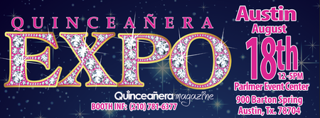 Austin Quinceaneras and Prom Expo 08-18-2013 At Palmer...
