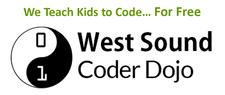 West Sound CoderDojo logo