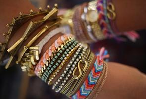 Craft a Friendship Bracelet at April's Pinterest Party!