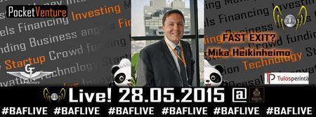 BAF Live! 28.5.2015 Summer Special!