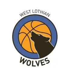 West Lothian Wolves Basketball Club is a Scottish Charitable Incorporated Organisation Charity Number SCO45197 logo
