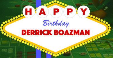 Derrick Boazman Birthday Bus 2015